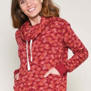 Brakeburn-Cowel Neck Sweater-Kapuzensweatshirt