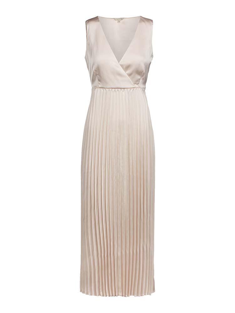 Herrlicher Ania Dress Pearl Mit Plissee Rock Chill Mode
